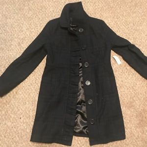 Old navy women's coat small plaid